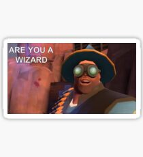 TF2 hoovy wizard Sticker