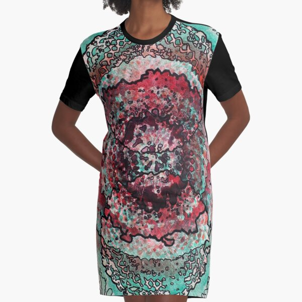 Stain 18 Graphic T-Shirt Dress