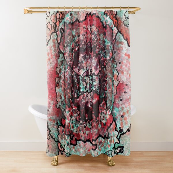 Stain 18 Shower Curtain