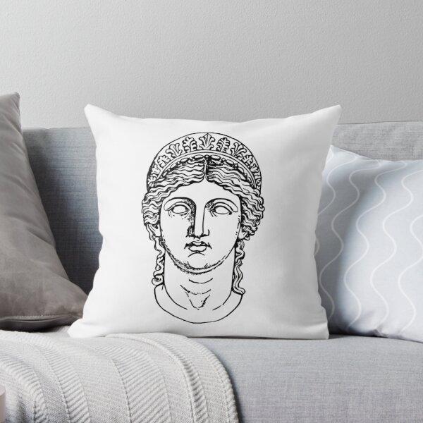Hera Greek Goddess Aesthetic Throw Pillow By Mimi0830 Redbubble