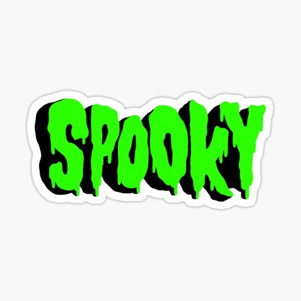 Spooky Green Slime Sticker