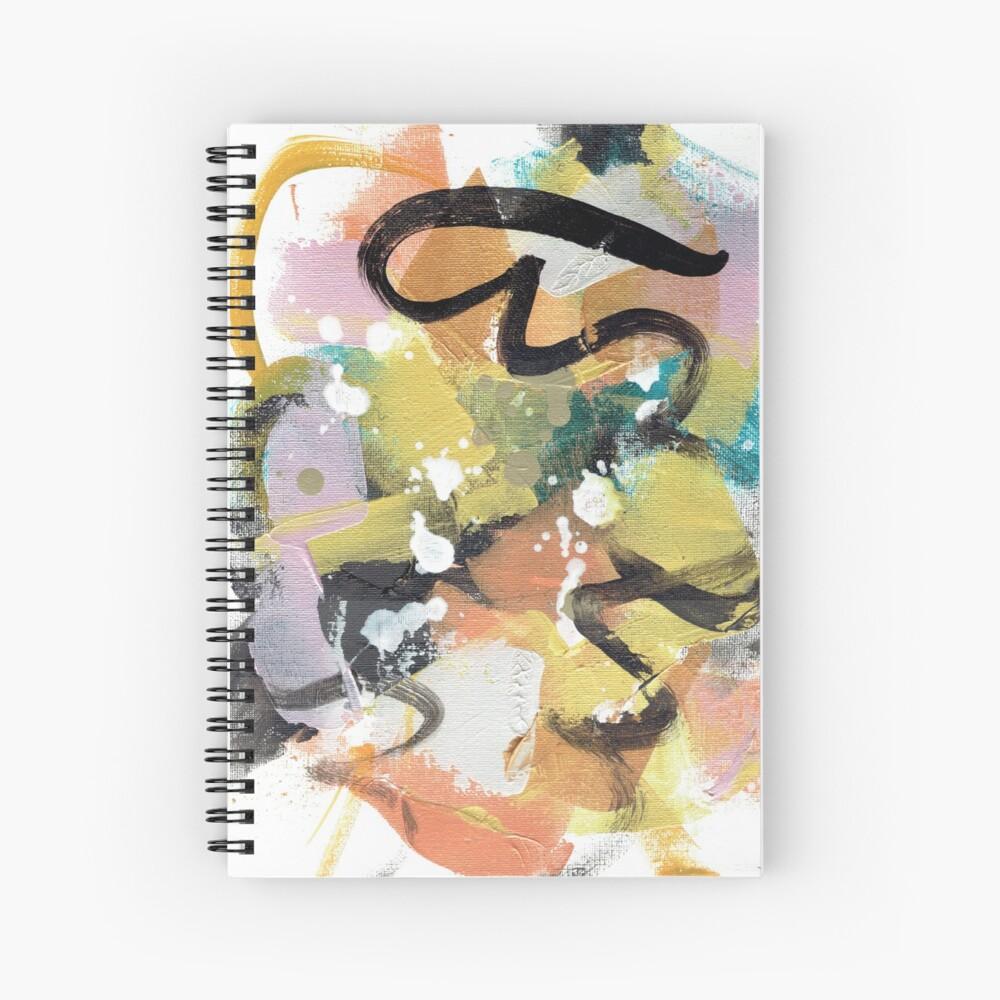 Elegant Collision Spiral Notebook