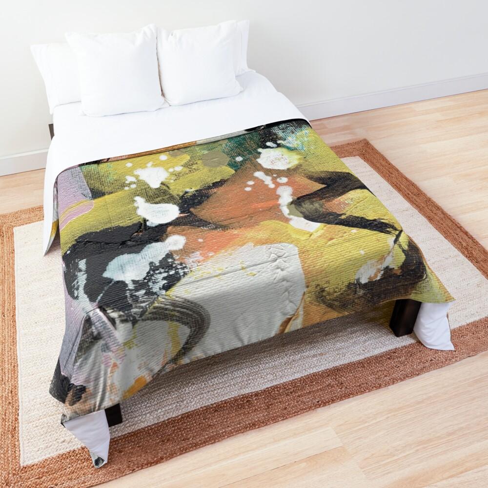 Elegant Collision Comforter