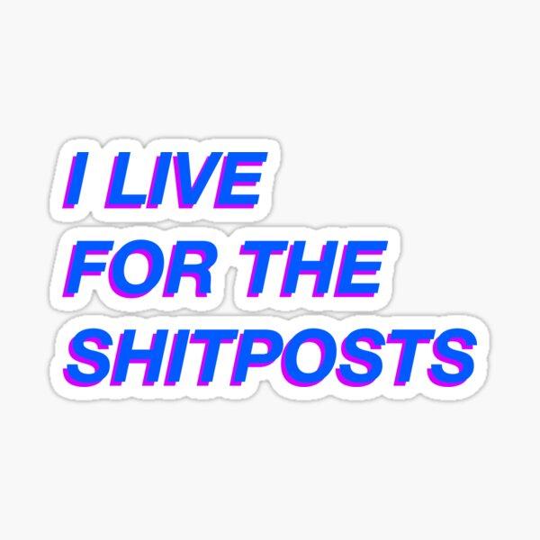 Shitposting spirit Sticker