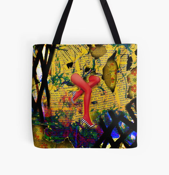 Runaway red All Over Print Tote Bag