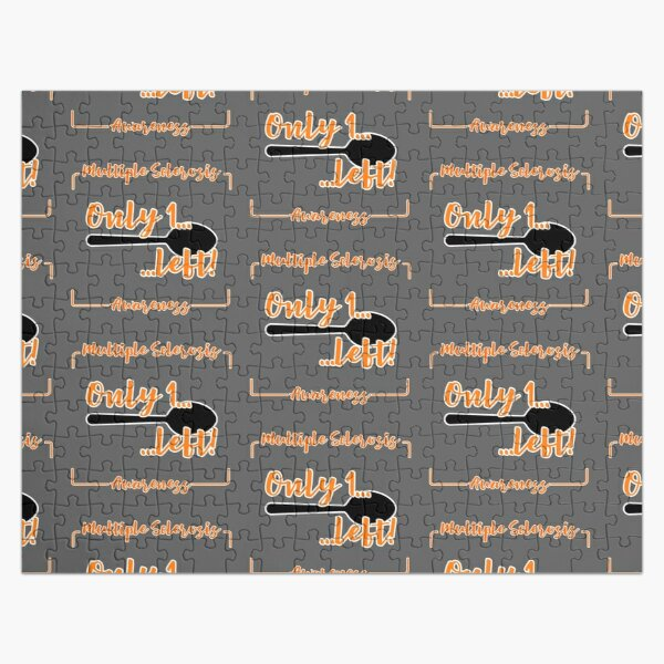 Multiple Sclerosis Awareness Spoonie Jigsaw Puzzle