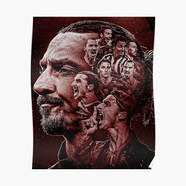 Zlatan Ibrahimovic Karriere Poster