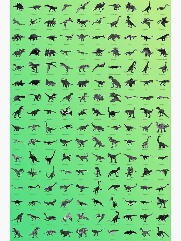 Dinosaurios clásico  de Astrobiologic