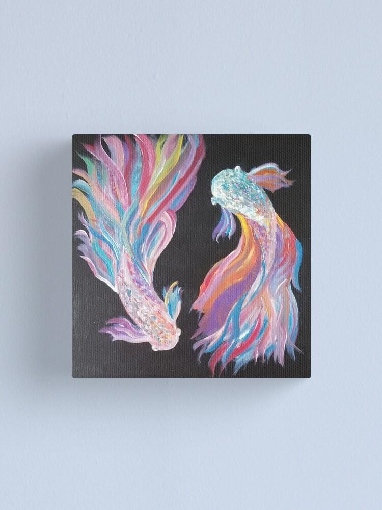 Alternate view of Yin-yang Dream Canvas Print