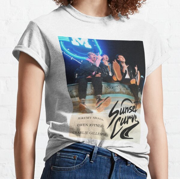 Sunset Curve Poster Classic T-Shirt