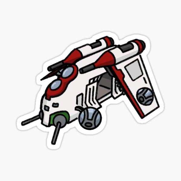 Republic Gunship Sticker