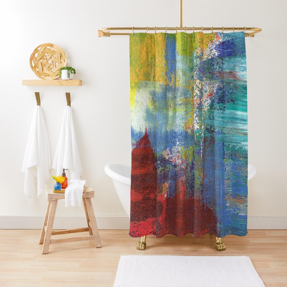 Bold Nuance IV Shower Curtain