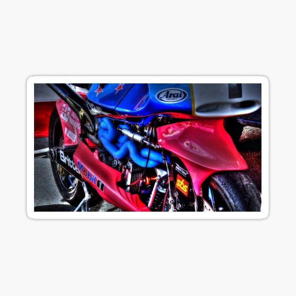 The Race Bike Glossy Sticker