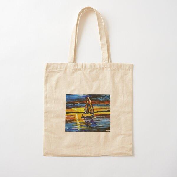 Sail Away Cotton Tote Bag