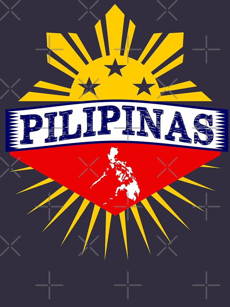 Pilipinas Design - Proud Pinoy Prints by busyokoy