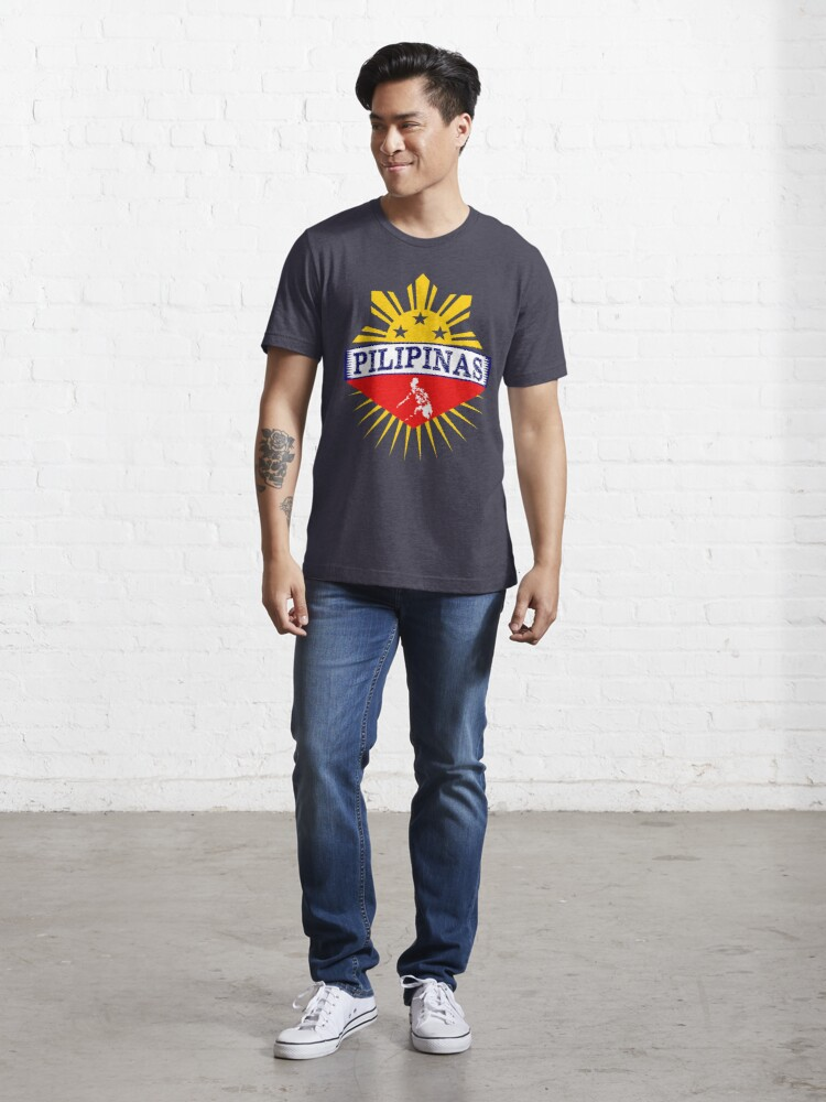 Alternate view of Pilipinas Design - Proud Pinoy Prints Essential T-Shirt