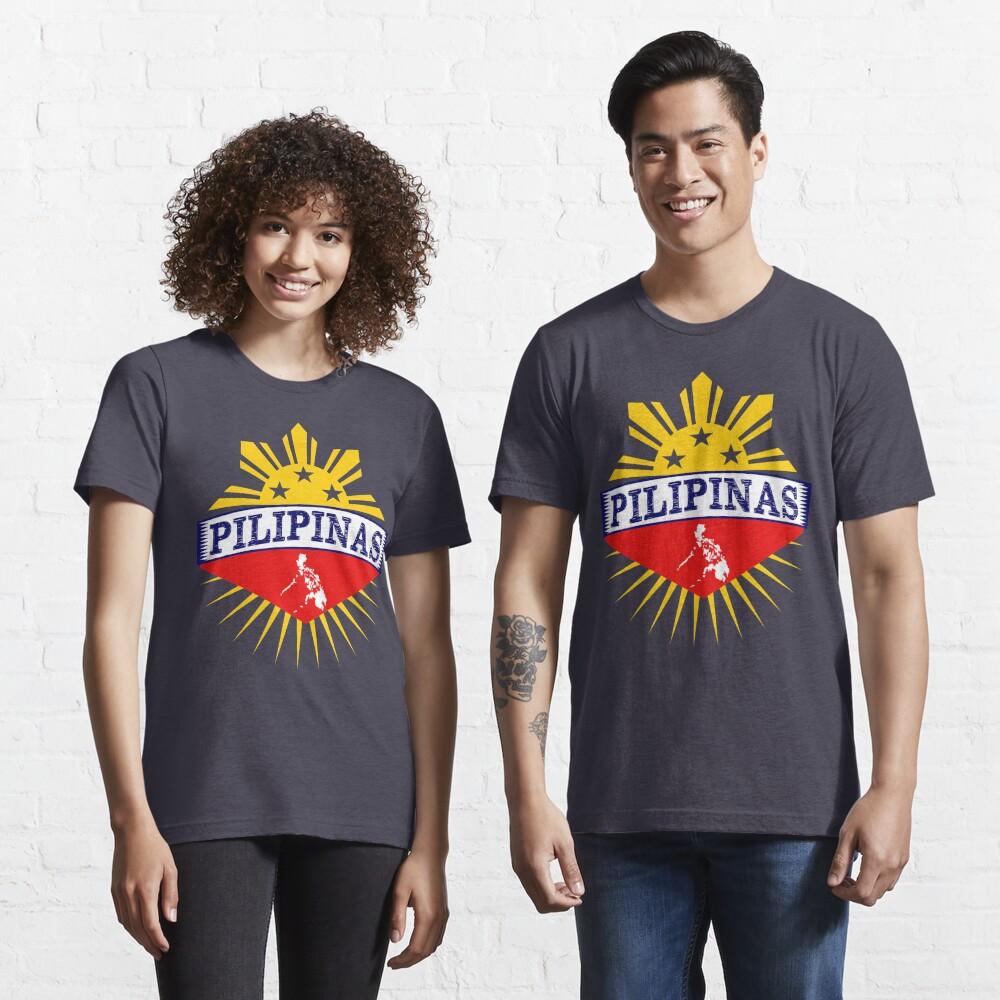 Pilipinas Design - Proud Pinoy Prints Essential T-Shirt