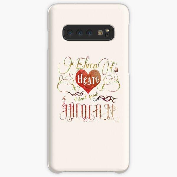 Elven Heart - I don't speak human Samsung Galaxy Snap Case