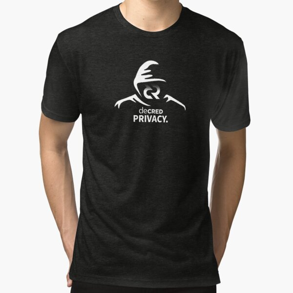 Decred privacy v1 Tri-blend T-Shirt
