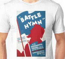 "Vintage Federal Theatre Project ""Battle Hymn"" WPA Unisex T-Shirt"