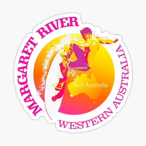 Surf Margaret River (SRF) Sticker