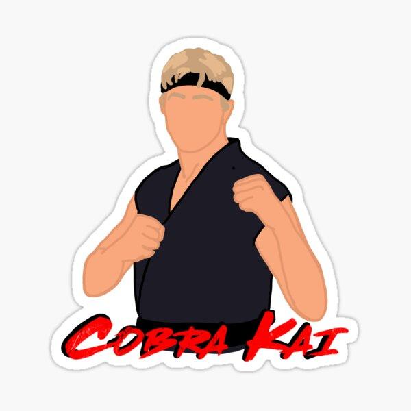 Cobra Kai Johnny Lawrence Pegatina