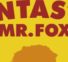 Fantastic Mr. Fox - Sticker Sticker