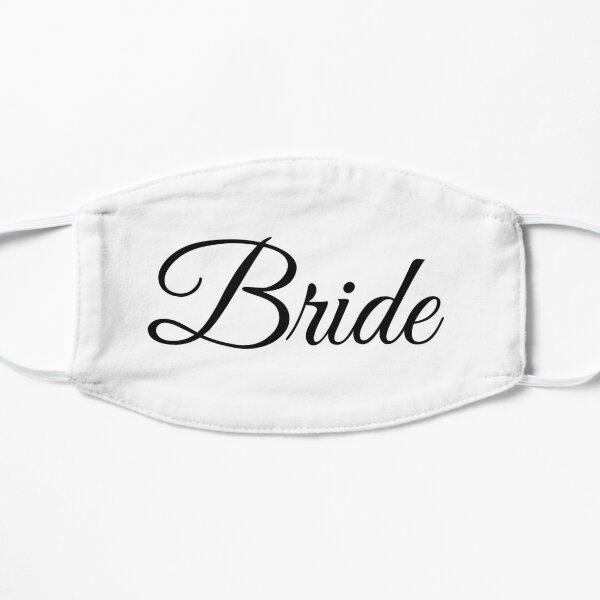 Bride Wedding Design Flat Mask