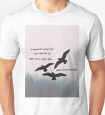 Marianas Trench Beside You Birds T-Shirt