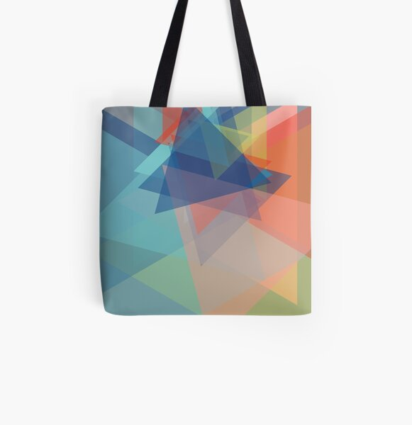 Cellophane All Over Print Tote Bag