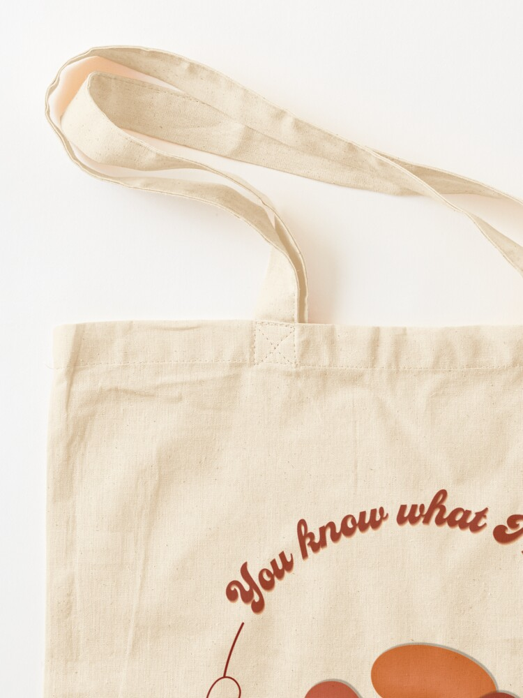 Alternate view of You know what I mean Chili Bean? Tote Bag