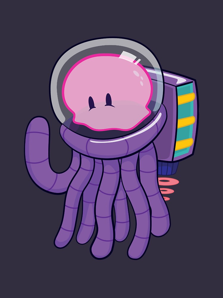Cosmo the Space Jellyfish by colbyfayock