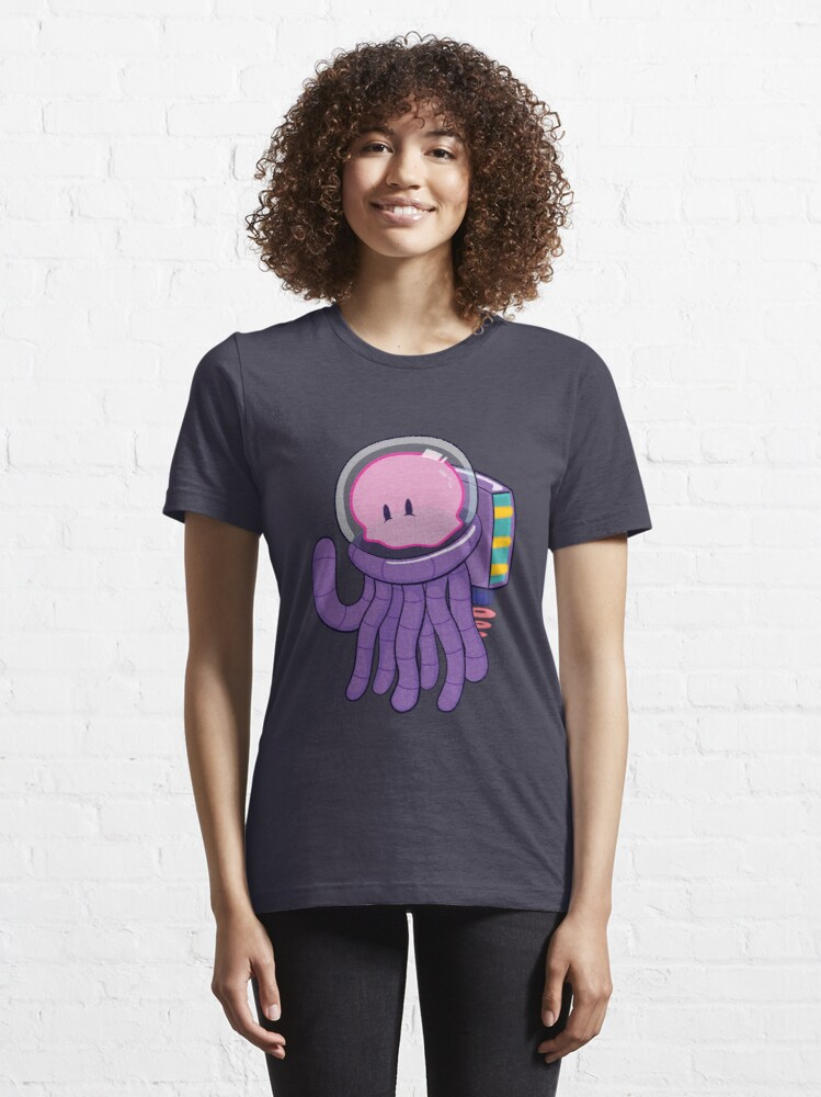 Alternate view of Cosmo the Space Jellyfish Essential T-Shirt