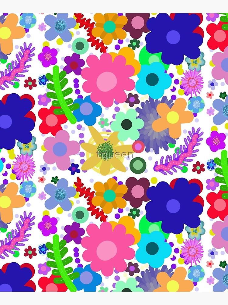 Garden of flowers by tqueen