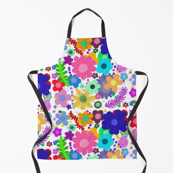 Garden of flowers Apron