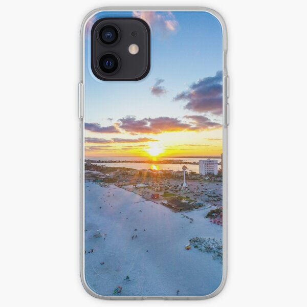 Casino Beach Sunrise iPhone Soft Case