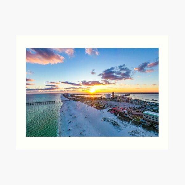 Casino Beach Sunrise Art Print