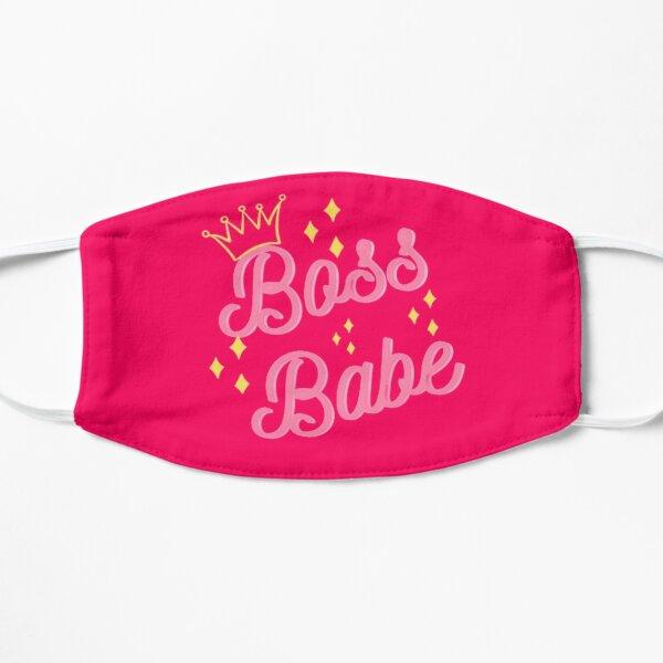 BossBabe Pink Flat Mask