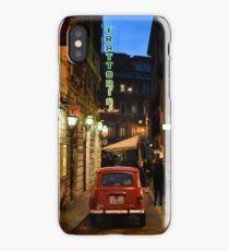 Renault 4, Via Sant'Andrea delle Fratte, Rome iPhone Case/Skin