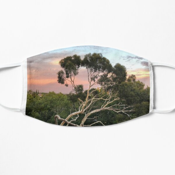 Pink Clouds and Ghost Gum Flat Mask