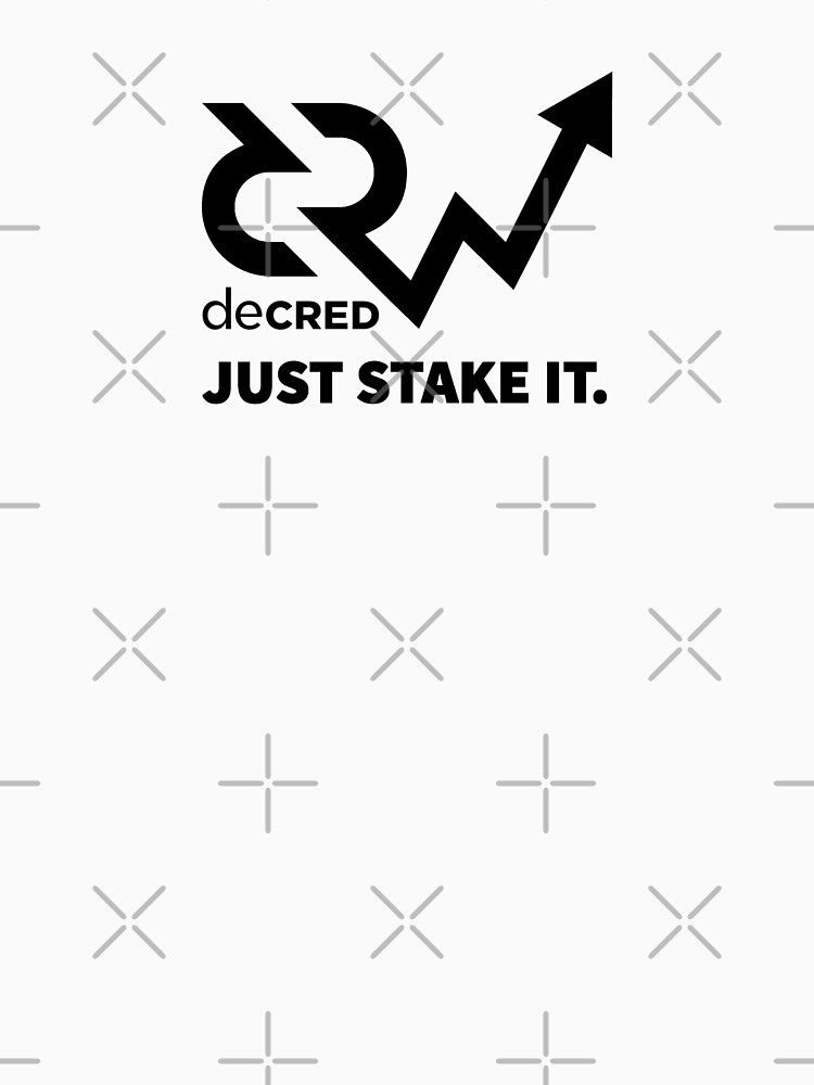 Decred just stake it v2 by OfficialCryptos