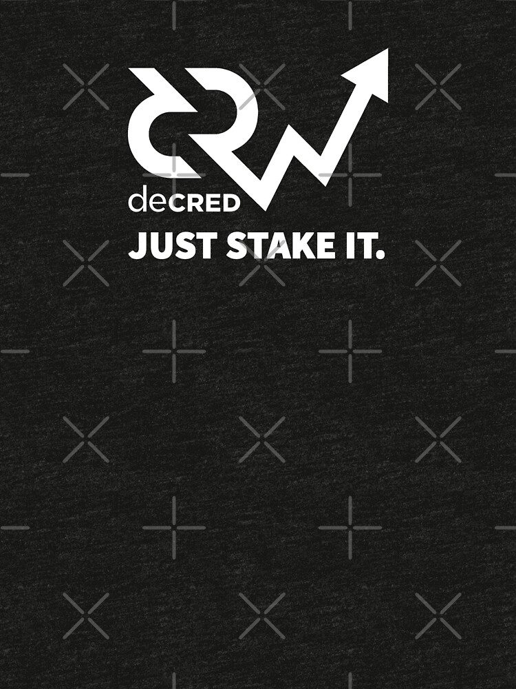 Decred just stake it v1 by OfficialCryptos