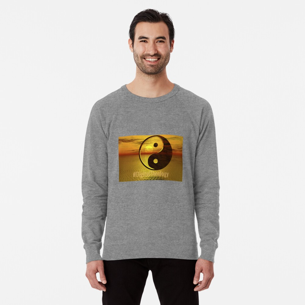 #DigitalTheology Lightweight Sweatshirt