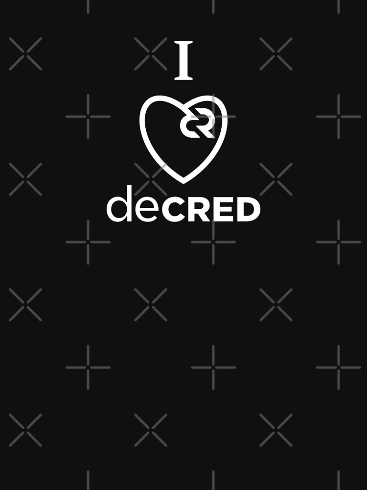I love Decred v1 by OfficialCryptos