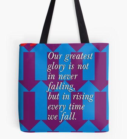 Confucius Inspirational Quote Tote Bag