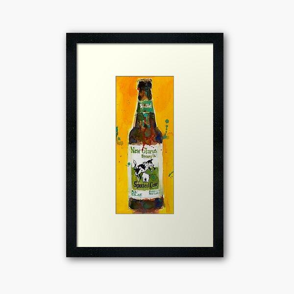 Wisconsin Beer - Man Cave Framed Art Print