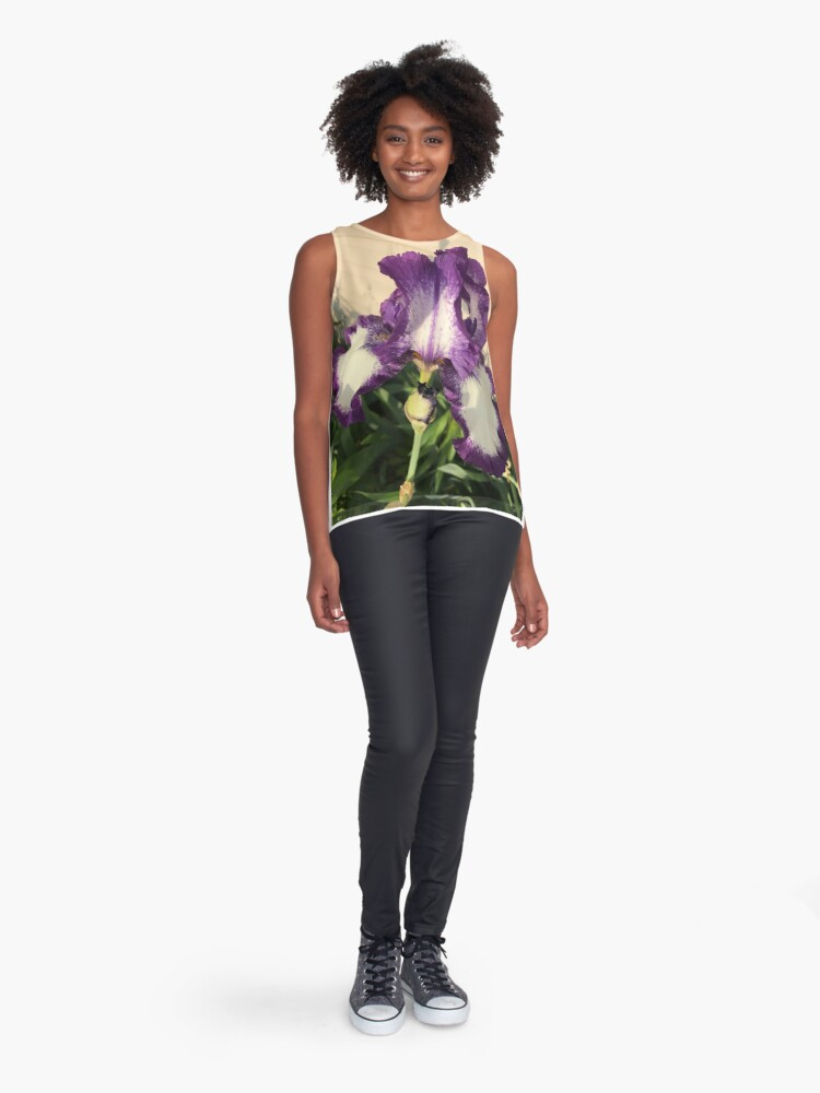 Alternate view of  Mother's Garden-The American Classis-Iris Sleeveless Top