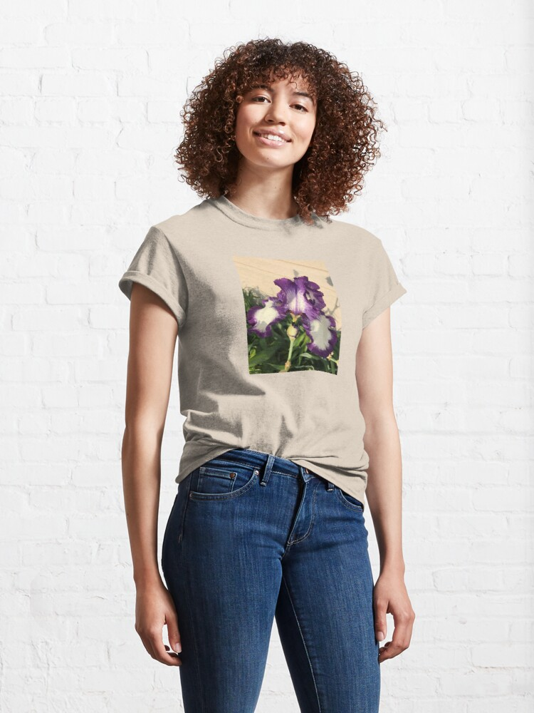 Alternate view of  Mother's Garden-The American Classis-Iris Classic T-Shirt