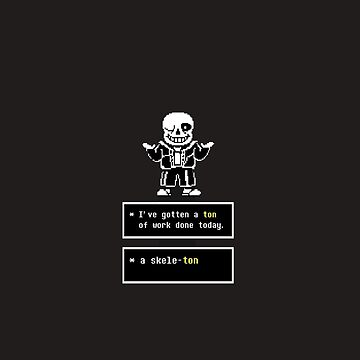 Undertale - Sans Skeleton - Undertale  by Juaco