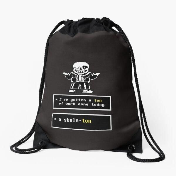Undertale - Sans Skeleton - Undertale  Drawstring Bag